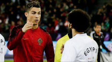 Ronaldo et salah