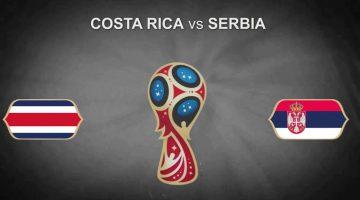 costa rica vs serbie