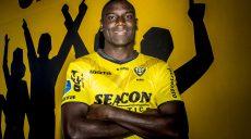2018-07-16 14:08:39 VENLO - Portret van Peniel Mlapa van VVV Venlo voorafgaand aan het voetbalseizoen van de Eredivisie 2018/2019. ANP JOEP LEENEN