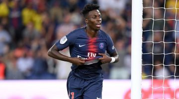 21 TIMOTHY WEAH (PSG) - JOIE
