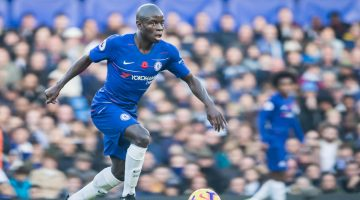 N'Golo Kante (Chelsea) during the English championship Premier League football match between Chelsea and Everton on November 11, 2018 at Stamford Bridge in London, England - Photo Jane Stokes / ProSportsImages / DPPI