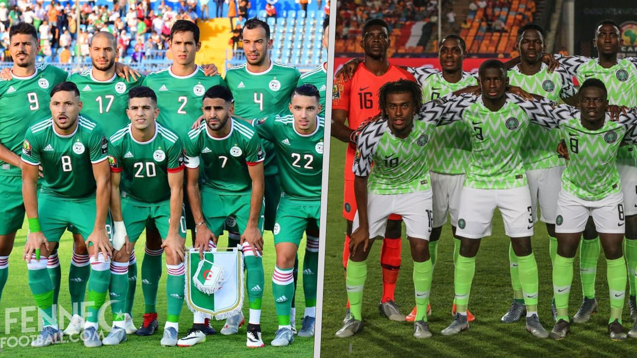"""Résultat de recherche d'images pour """"CAN-2019 (demi-finales) Algérie-Nigeria"""""""