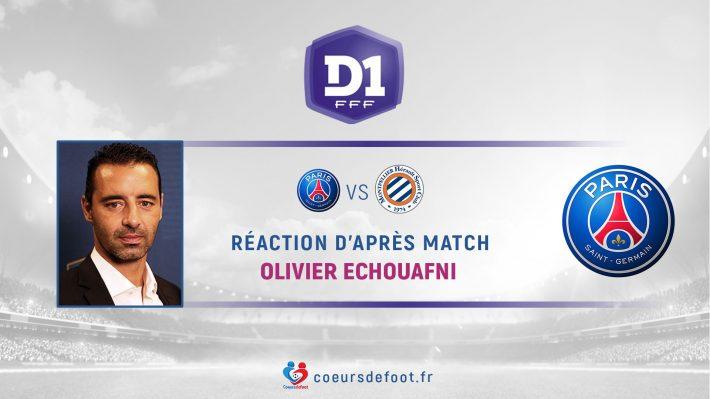 Olivier Echouafni (Paris SG) : « On y va pour se qualifier [en 1/2 finale de Coupe de France], comme Lyon va le vouloir. »
