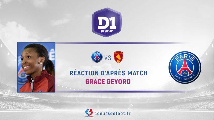 Grace Geyoro (PSG) : « Il faudra une victoire [face à Lyon pour le titre de D1] »