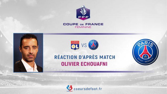 Olivier Echouafni (PSG) : « Déçu d'encaisser ce but un peu anodin »