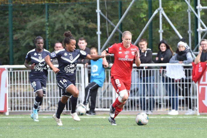 D1 (2e journée) Dijon – Bordeaux (0-3) : Les Girondines complètent le quatuor de tête