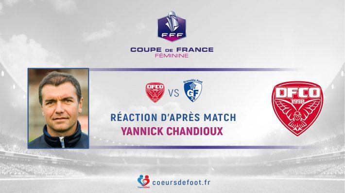 Yannick Chandioux (DFCO) : « C'était le match qu'il fallait faire contre nous »