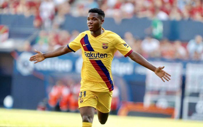 Barcelone : Ansu Fati fait son choix pour sa sélection nationale