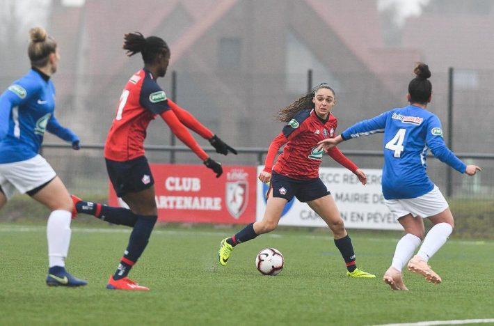 Coupe de France (1/8e) : Le LOSC rejoint les quarts de finale