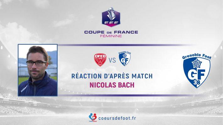 Nicolas Bach (Grenoble Foot 38) : « On fait du foot pour ces émotions-là »