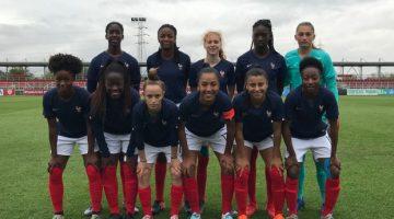 Euro U19 (Qualifications) : Déjà qualifiées pour le Tour Élite, les Bleuettes concluent par une victoire face à la Slovaquie