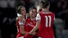 Ligue des Championnes (1/8e retour) : Le festival d'Arsenal, Glasgow a eu chaud