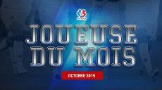 D1 - Découvrez notre joueuse du mois d'Octobre 2019 !