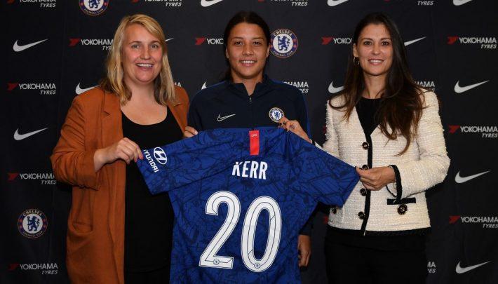 FA WSL : L'attaquante australienne Sam Kerr va porter les couleurs de Chelsea