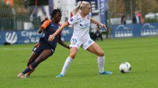 D1 (8e journée) : Montpellier subit la loi lyonnaise, Dijon enfonce les Messines
