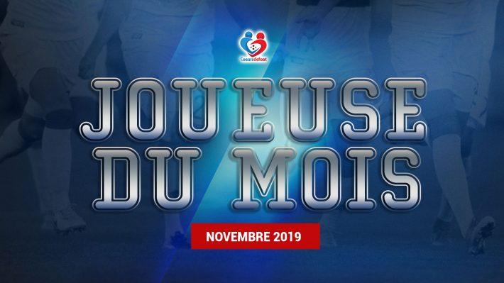 D1 - Découvrez notre joueuse du mois de Novembre 2019 !