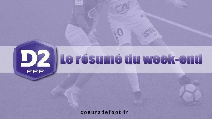 D2 (10e journée) : Issy renforce son leadership (Groupe A), Une première option pour Le Havre (Groupe B)