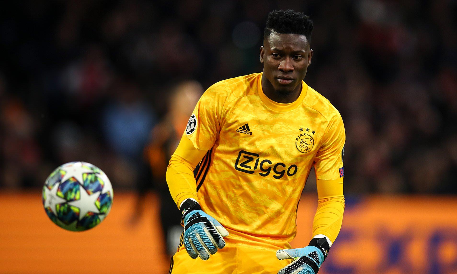 André Onana : Un message en guise d'adieu à l'Ajax, de la part du ...