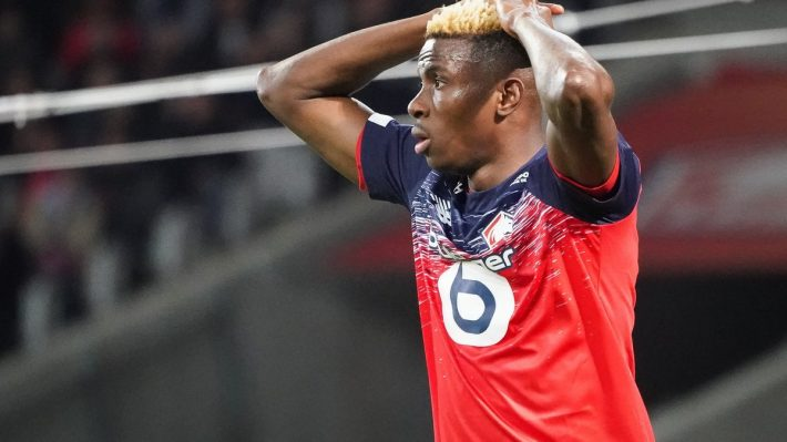 Terrible coup dur pour le Nigérian Victor Osimhen — LOSC