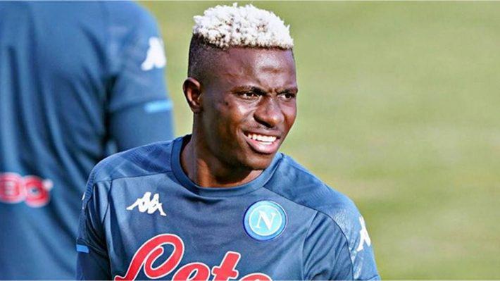 Trois buts en six minutes pour Victor Osimhen avec Naples